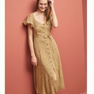 Anthropologie➕ animal print dress